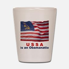 USSA-Obamanation Shot Glass