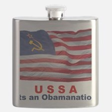USSA-Obamanation Flask