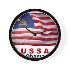 USSA-Obamanation Wall Clock
