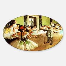 dance class calendar Decal