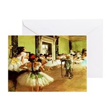 dance class calendar Greeting Card