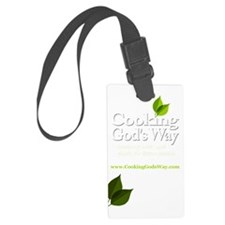 Apron Square Dark Colors Luggage Tag