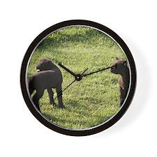 Lambs2 Wall Clock