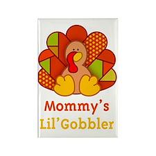 MommysLilGobbler_Dark Rectangle Magnet