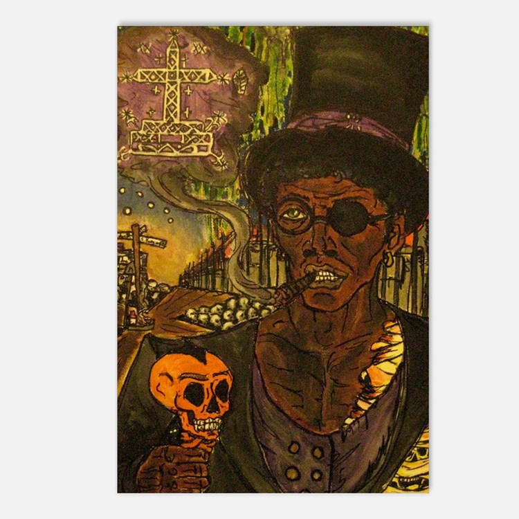 Baron Samedi Postcards (Package of 8)