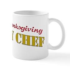 officialTurkeyChefPrintDark Mug