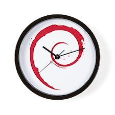 Whirling Spirit Wall Clock