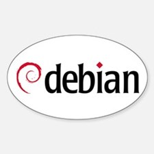 Debian Oval Decal