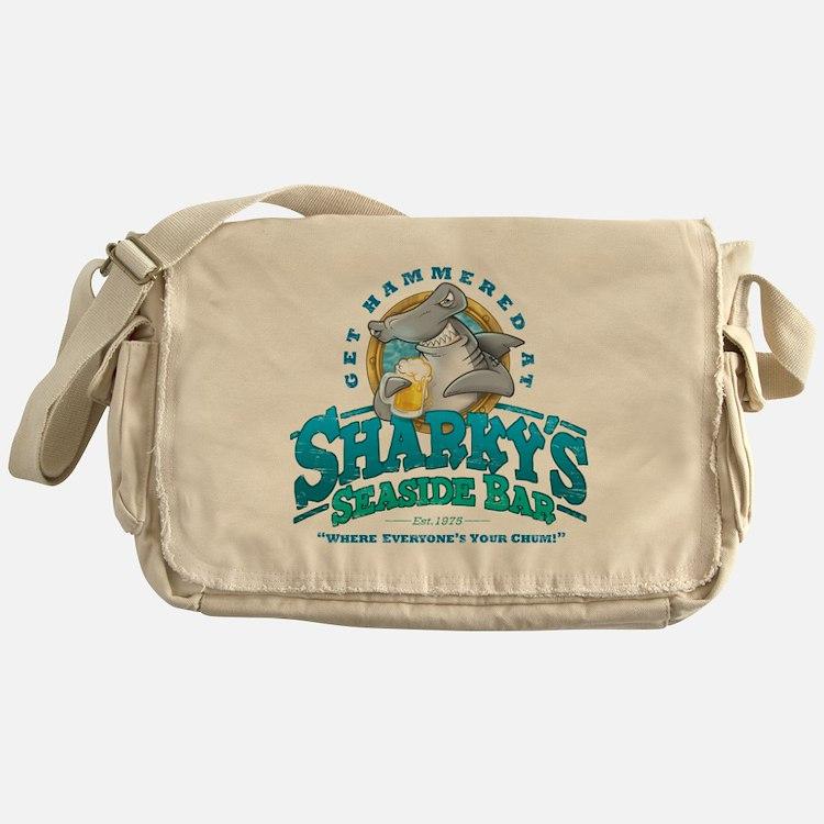SharkysBar Messenger Bag