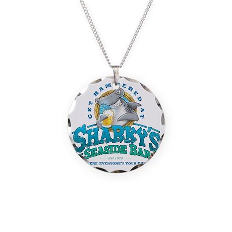 SharkysBar Necklace Circle Charm