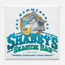 SharkysBar Tile Coaster