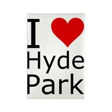 ihearthydeparkpng Rectangle Magnet