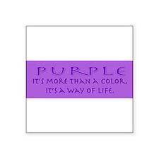 purplewaybumper Sticker
