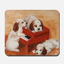 Pianopups enlarged Mousepad