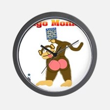 Bingo Monkey Wall Clock