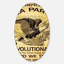2-Tea Party Revolutionary Decal