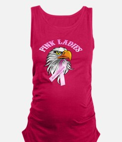Pink Ladies Eagle Head Maternity Tank Top