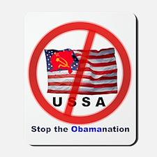 USSA8-Obamanation Mousepad