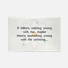 Maybe It's The Universe(B) Rectangle Magnet