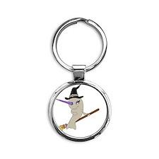 witch Round Keychain
