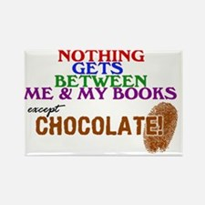 2-logo except chocolate large Rectangle Magnet