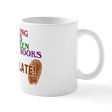 2-logo except chocolate large Mug