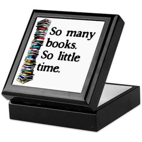 2-logo so many books Keepsake Box