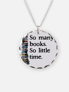 2-logo so many books Necklace