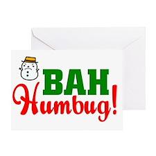 BahHumbugDark Greeting Card