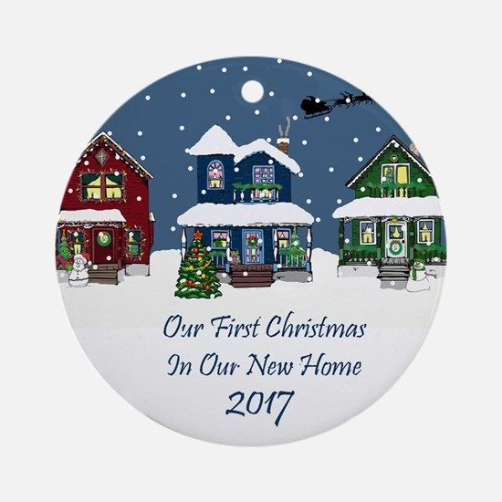2017 Country Cottage First Christmas Ornament
