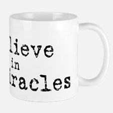 believemiracles-10x10 plai Small Small Mug