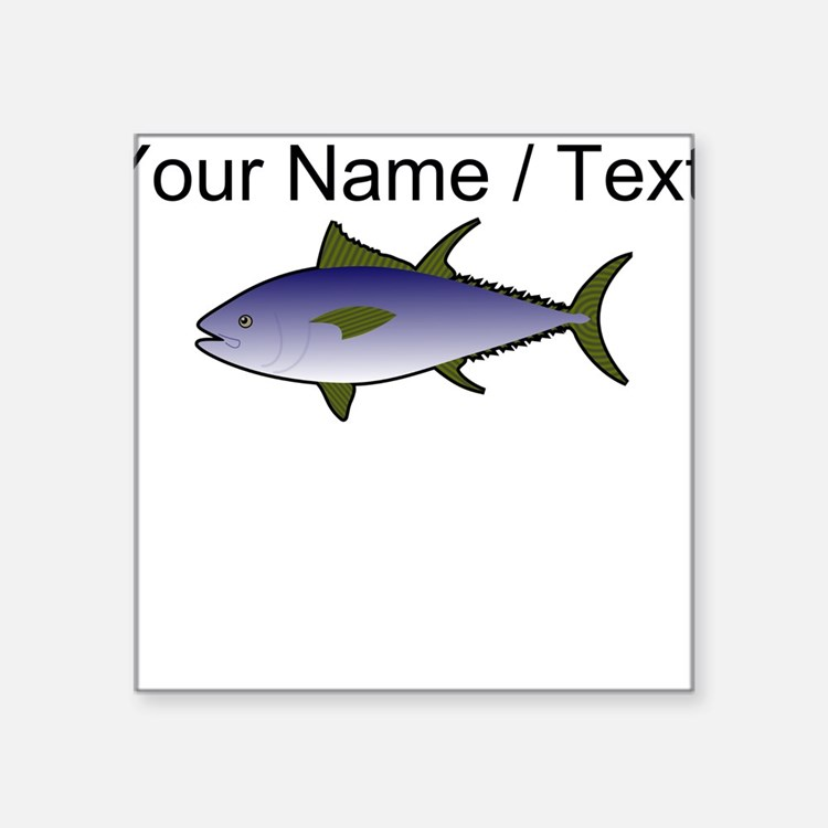 Custom Tuna Fish Sticker