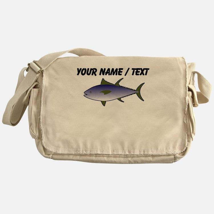 Custom Tuna Fish Messenger Bag