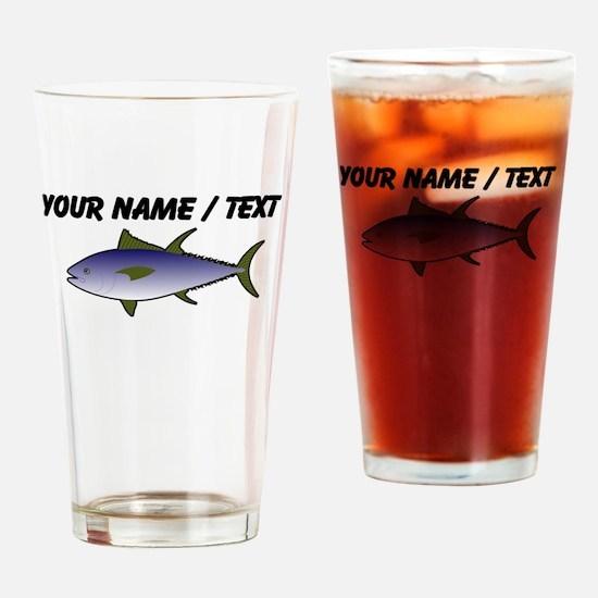 Custom Tuna Fish Drinking Glass