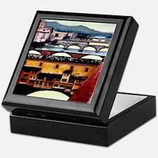 Pontes di Arno, Firenze-1 Keepsake Box