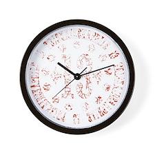 triskaidekaphile-DKT Wall Clock