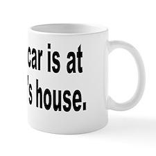 yourmomshousebumperstickersmall Mug