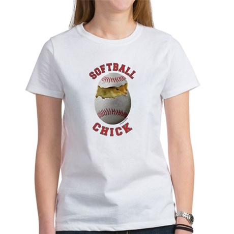 Softball Chick 2 Women's T-Shirt
