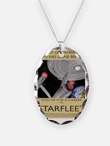 starfleet-recruitment greeting Necklace