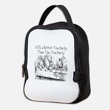 Tea Party Neoprene Lunch Bag
