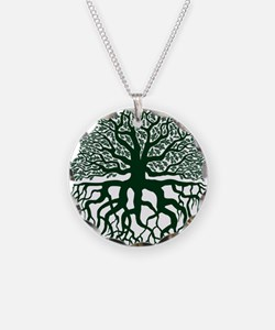 OakTreedarkgreen Necklace