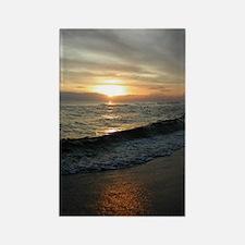 Sunset  Surf 9x12_print Rectangle Magnet