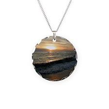 Sunset  Surf 9x12_print Necklace