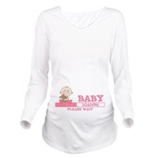 Baby Loading Long Sleeve Maternity T-Shirt