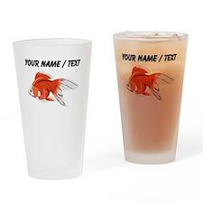 Custom Goldfish Drinking Glass