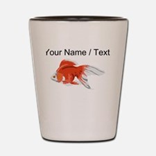 Custom Goldfish Shot Glass