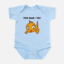 Custom Goldie The Goldfish Body Suit