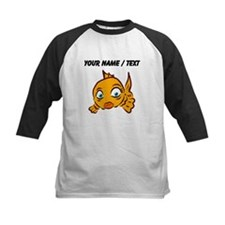 Custom Goldie The Goldfish Baseball Jersey