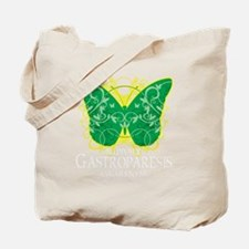 Gastroparesis-Butterfly-blk Tote Bag