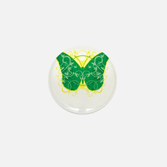 Gastroparesis-Butterfly-blk Mini Button